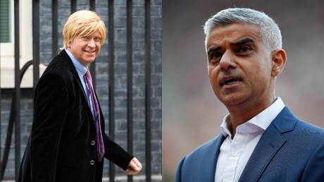 (Left) Tory backbencher Michael Fabricant © Paul Davey / Barcroft Media via Getty Images (Right) London Mayor Sadiq Khan © Matthew Childs / Reuters
