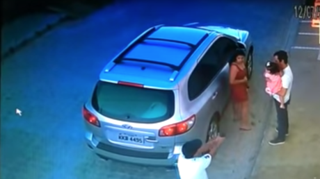 5b493a3ddda4c809138b462a Brazilian lawyer executed by hitman in front of his toddler daughter (EXTREMELY GRAPHIC)