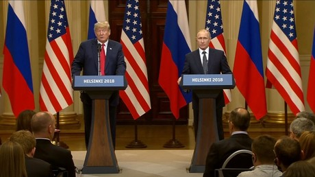 Putin & Trump speak to press following talks in Helsinki