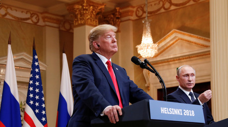 'No collusion, I didn't know Putin to collude with him': Trump says after talks in Helsinki