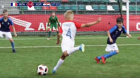 Watch Russian kids do perfect reenactment of World Cup final (and someone had to be Lloris)