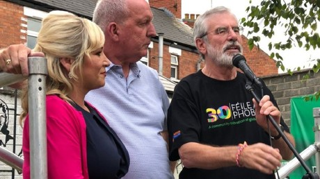 Sinn Féin Gerry Adams' home attacked: Man released on bail pending police investigation