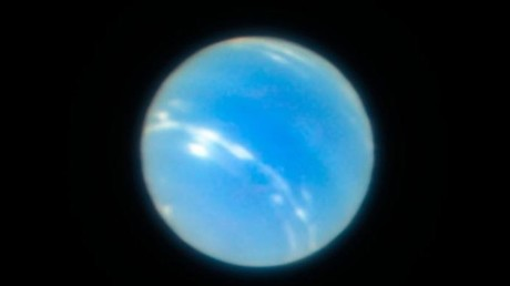 Earth-based telescope takes super-sharp image of Neptune (PHOTOS)