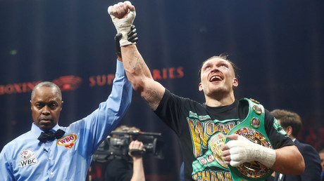 Ukraine's Usyk beats Russian Gassiev to win WBSS final & Muhammad Ali trophy in Moscow