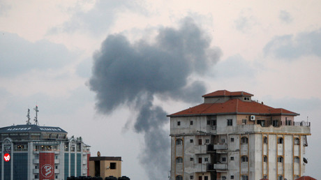 Israel launches massive air raid on Gaza - IDF