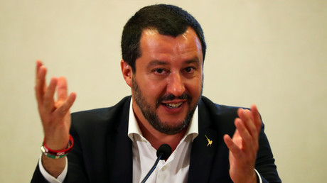 FILE PHOTO: Italian Interior Minister Matteo Salvini © Tony Gentile