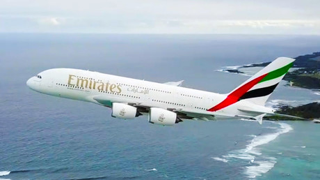 Viral drone VIDEO slammed over dangerously close flyby to superjumbo jet