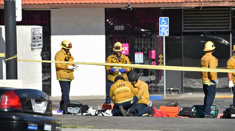 Woman killed in Los Angeles store hostage situation after car chase & police-involved shooting