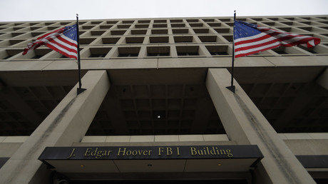 The J. Edgar Hoover Federal Bureau of Investigation (FBI) Building is seen in Washington, U.S. ©  Jim Bourg