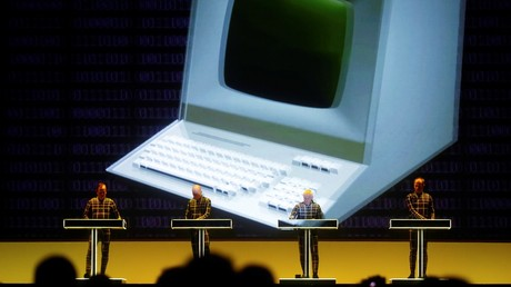 Astronaut rocks synth from International Space Station during Kraftwerk gig (VIDEO)