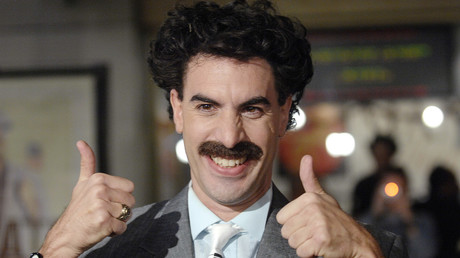 Actor Sacha Baron Cohen as Borat © Phil McCarten