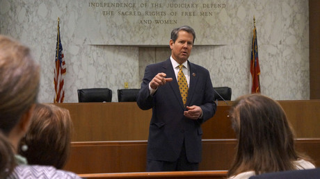 FILE PHOTO: Georgia Secretary of State Brian Kemp © Letitia Stein