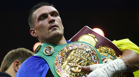 'The enemy's lair': Ukrainian deputy admonishes boxer Usyk for failing to call for Crimean return