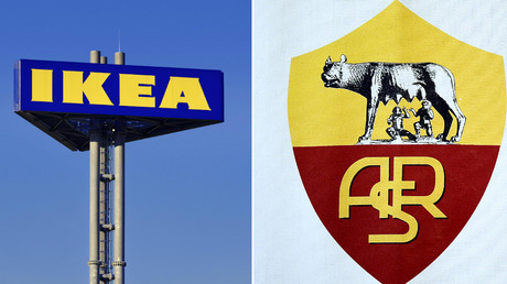 Sent packing: Ikea jokes with Roma over failed Malcom transfer