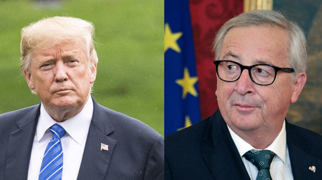 How to take on Trump: The EU leaders' guide for Juncker on butting heads with the Don (VIDEO)