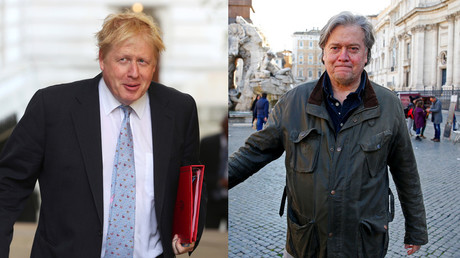 Bannon & BoJo 'in contact': Links grow between Trump's alt-right guru & Brexiteers