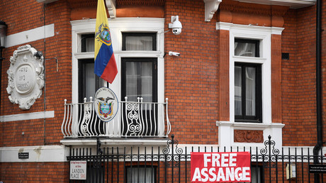 FILE PHOTO: The Ecadorian embassy in central London © Toby Melville