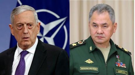 US and Russian defense ministers meet for first time, Mattis expresses condolences on Kerch tragedy