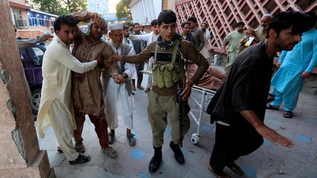 5b6015fefc7e93ed698b45ef Blasts & heavy gunfire reported in eastern Afghanistan
