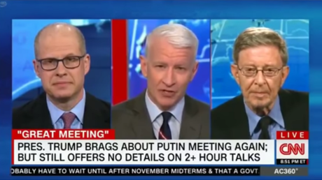 Max Boot, Anderson Cooper and Stephen Cohen