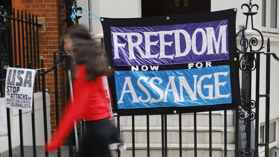 Assange may finally leave Ecuadorian embassy in London as health worsens – report