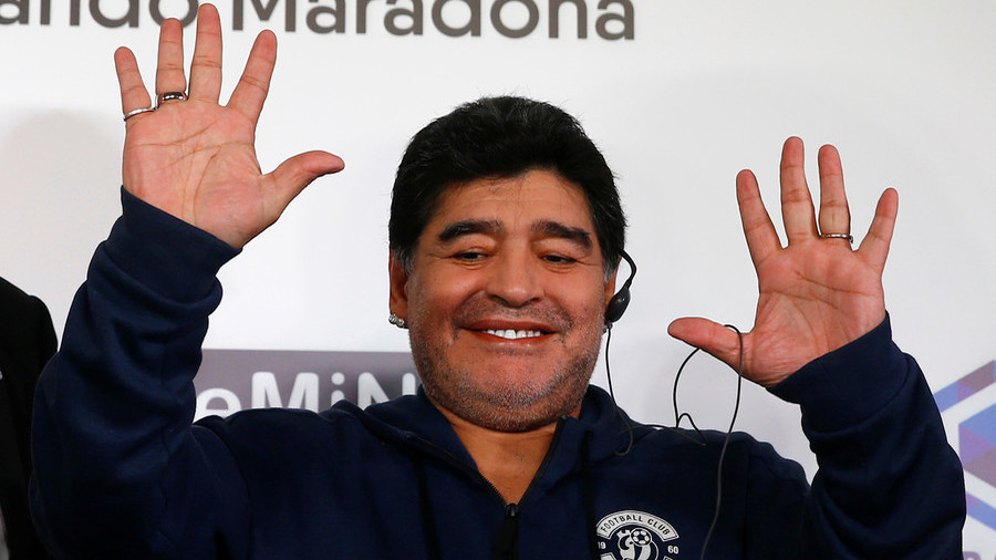 'I have money for big transfers, we want UCL football' – Maradona makes Dinamo Brest promises