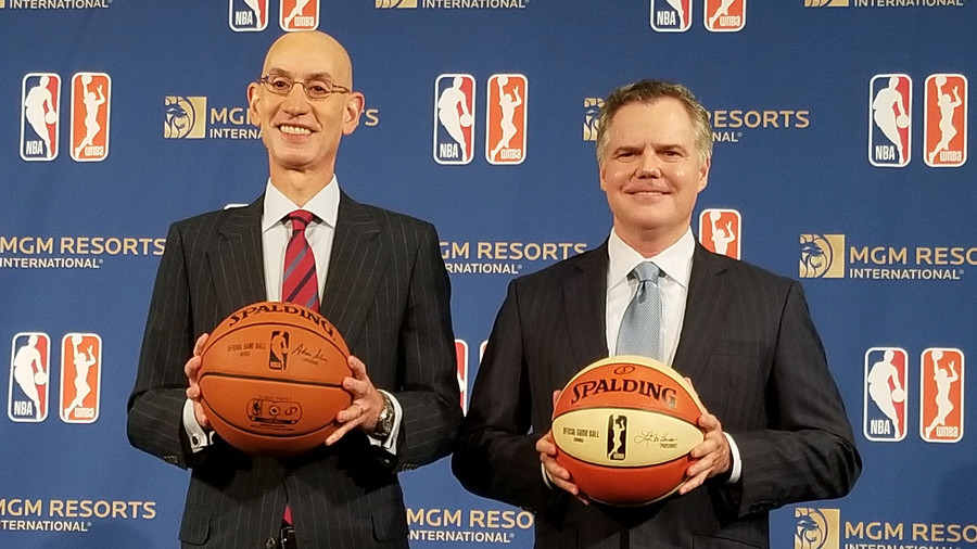 High stakes: NBA becomes first US league to get betting sponsor