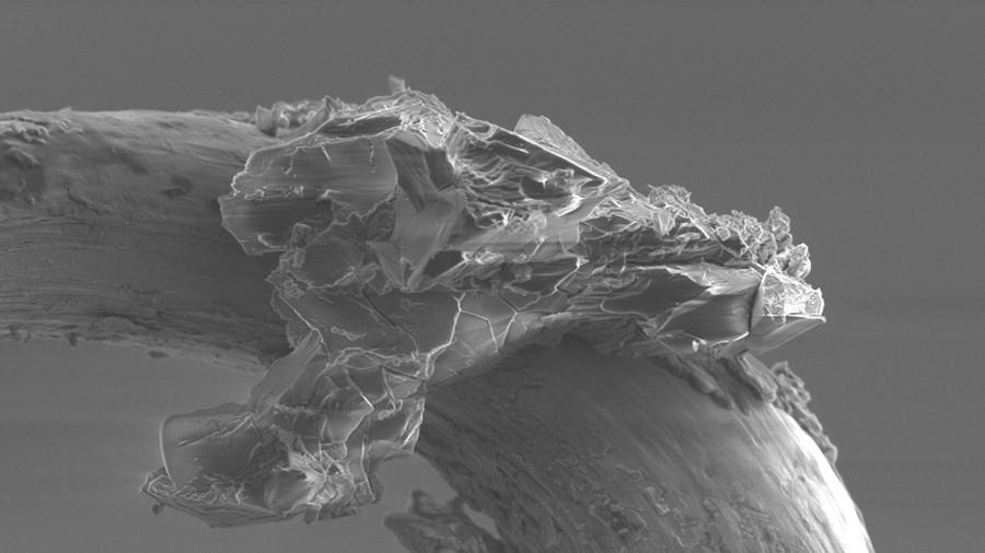 Microscopic 'grain' of asteroid Itokawa revealed in mindblowing close-up (PHOTO)