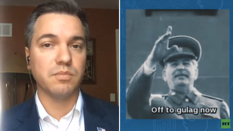 'Twitter interfering in elections on Dems' side' – Republican candidate banned over Stalin gif