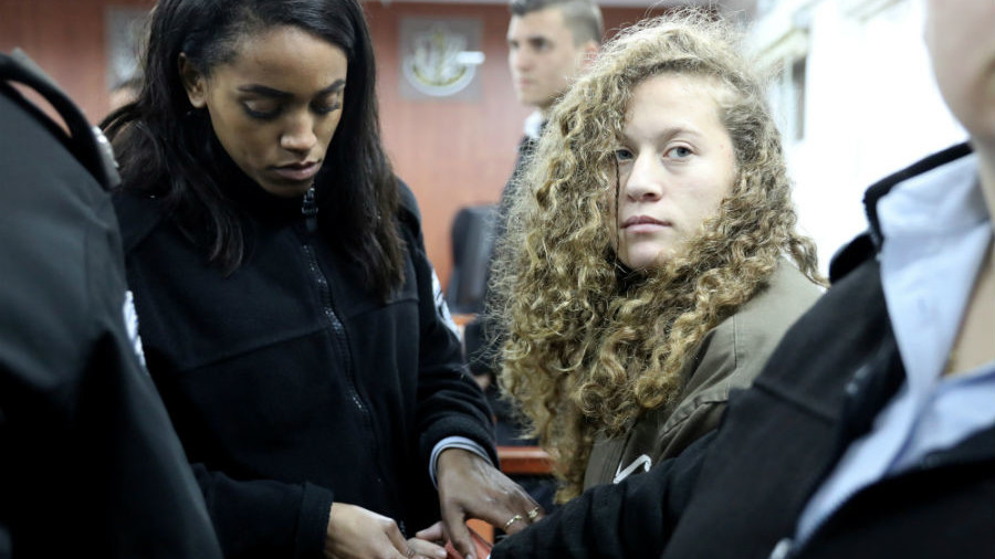 'I'm ready to go to prison 100 more times' – Palestinian teen activist Tamimi to RT