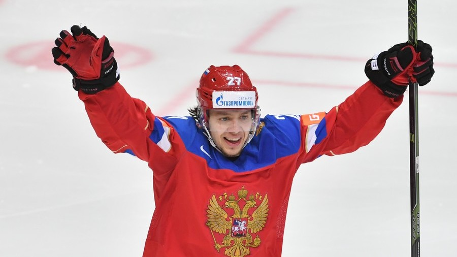 Ice hockey star Panarin mocks anti-Russian sanctions in tractor video