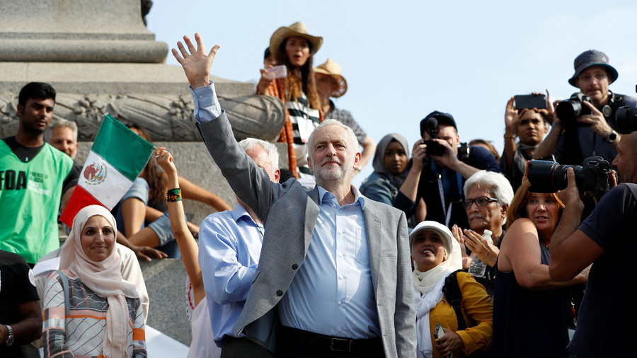 #WeAreCorbyn trends at No.3 worldwide as Corbynites fight back against anti-Semitic 'smears'