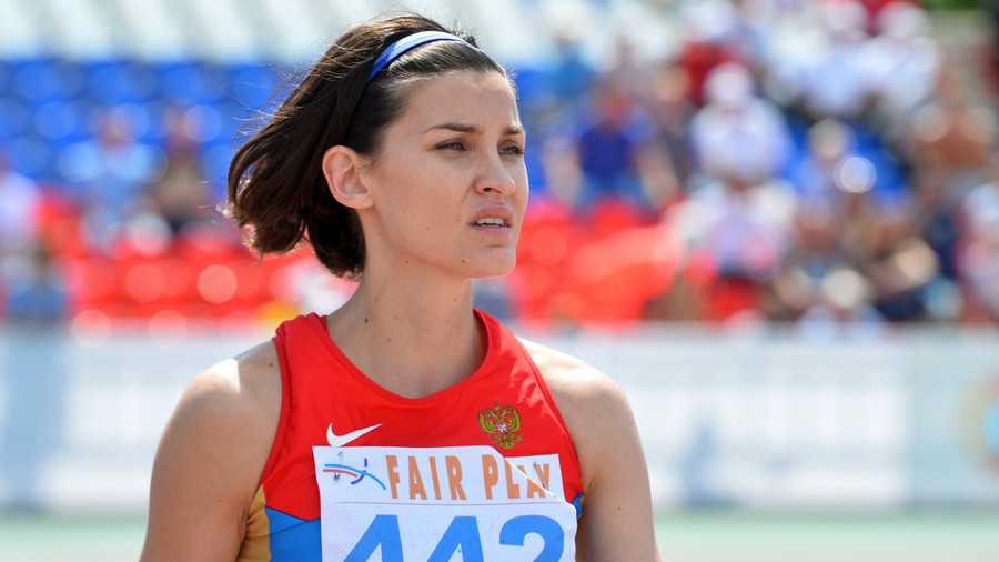IAAF bars Russian ex-Olympic champion from international competition