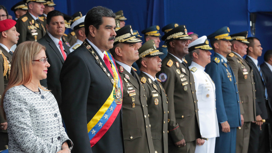 In post-attack speech, Venezuela's Maduro blames 'ultra-right' & Colombia