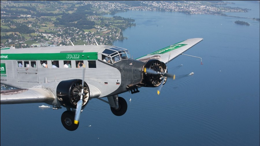 All 20 aboard WWII-era plane killed in Swiss Alps crash – police