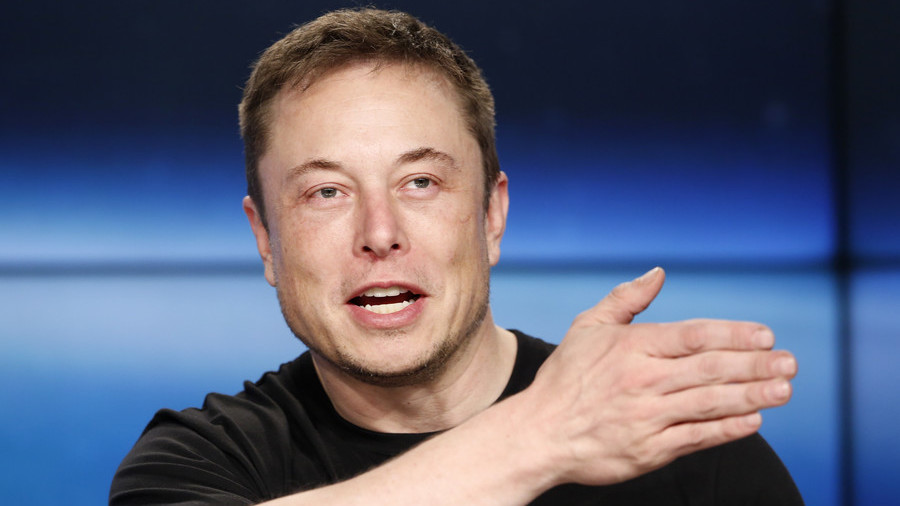 Elon Musk shares meme video of Hitler 'Shorting Tesla Stock' on Twitter