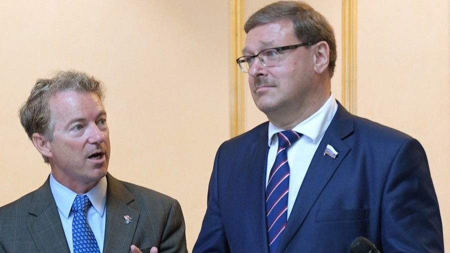 On Moscow Trip, Rand Paul Invites Russians To Washington