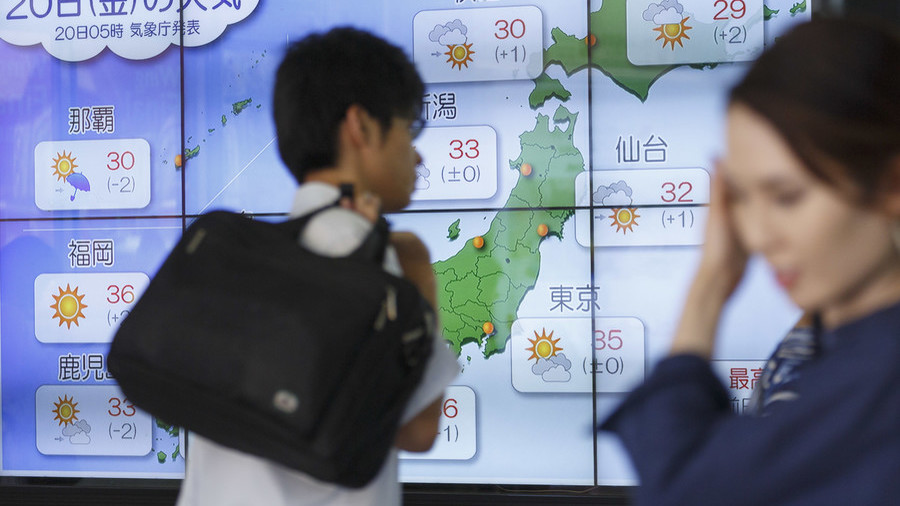Japan considering daylight savings switch over Olympics heatwave fears
