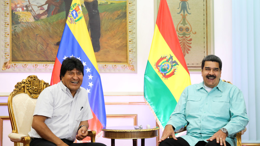 Bolivian leader digs up Pompeo comment about 'transition' in Venezuela after attack on Maduro