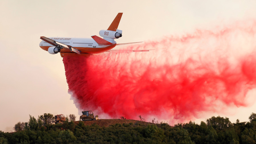 Raging Mendocino Complex fire becomes largest in Californian history (VIDEOS, PHOTOS)