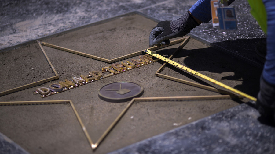 West Hollywood gives green light for removal of Trump's Walk of Fame star