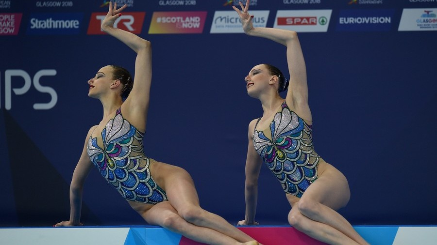 Synchronized swimmers extend Russia's dominance at European Championships