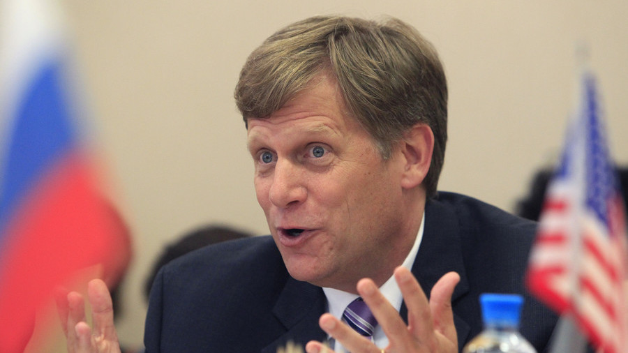 Michael McFaul, what have YOU done to help improve US-Russia relations?