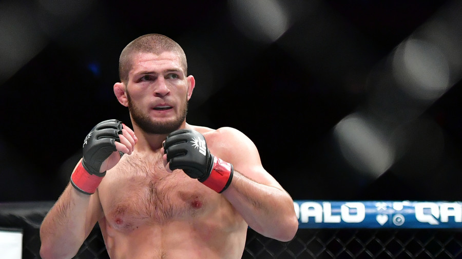 UFC star Khabib Nurmagomedov under fire for clip showing homeless people doing push-ups (VIDEO)
