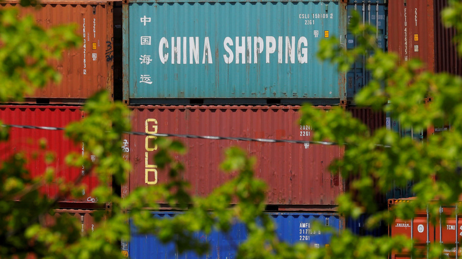 Chinese exports accelerate as USA  prepares new tariffs in heated row
