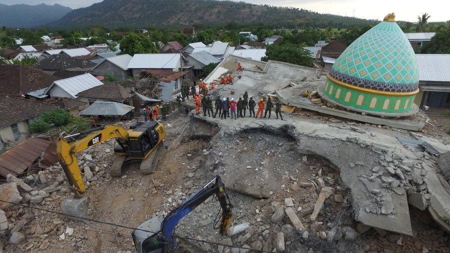 New strong quake hits Indonesia, levels buildings (VIDEO)