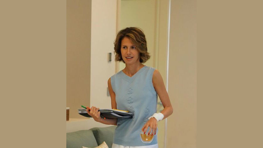 Asma al-Assad: Syria's first lady treated for breast cancer