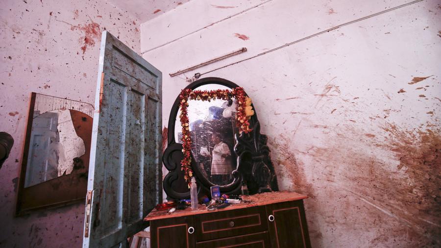 Bloodstains & debris: VIDEO inside house where Israeli airstrike killed pregnant woman, her toddler