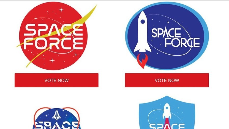 The Farce Awakens? Trump's Space Force logo contest triggers avalanche of 'better' designs