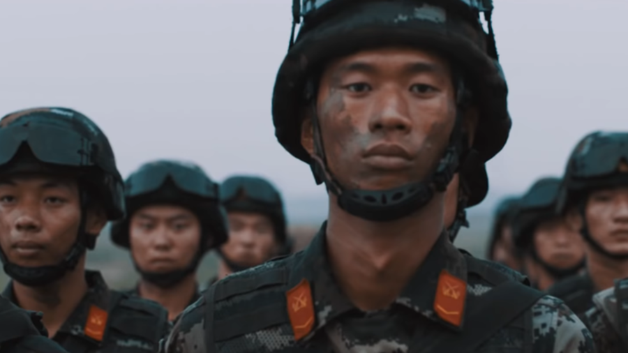 'Peace behind me, war in front of me': China shows big guns in epic recruitment VIDEO